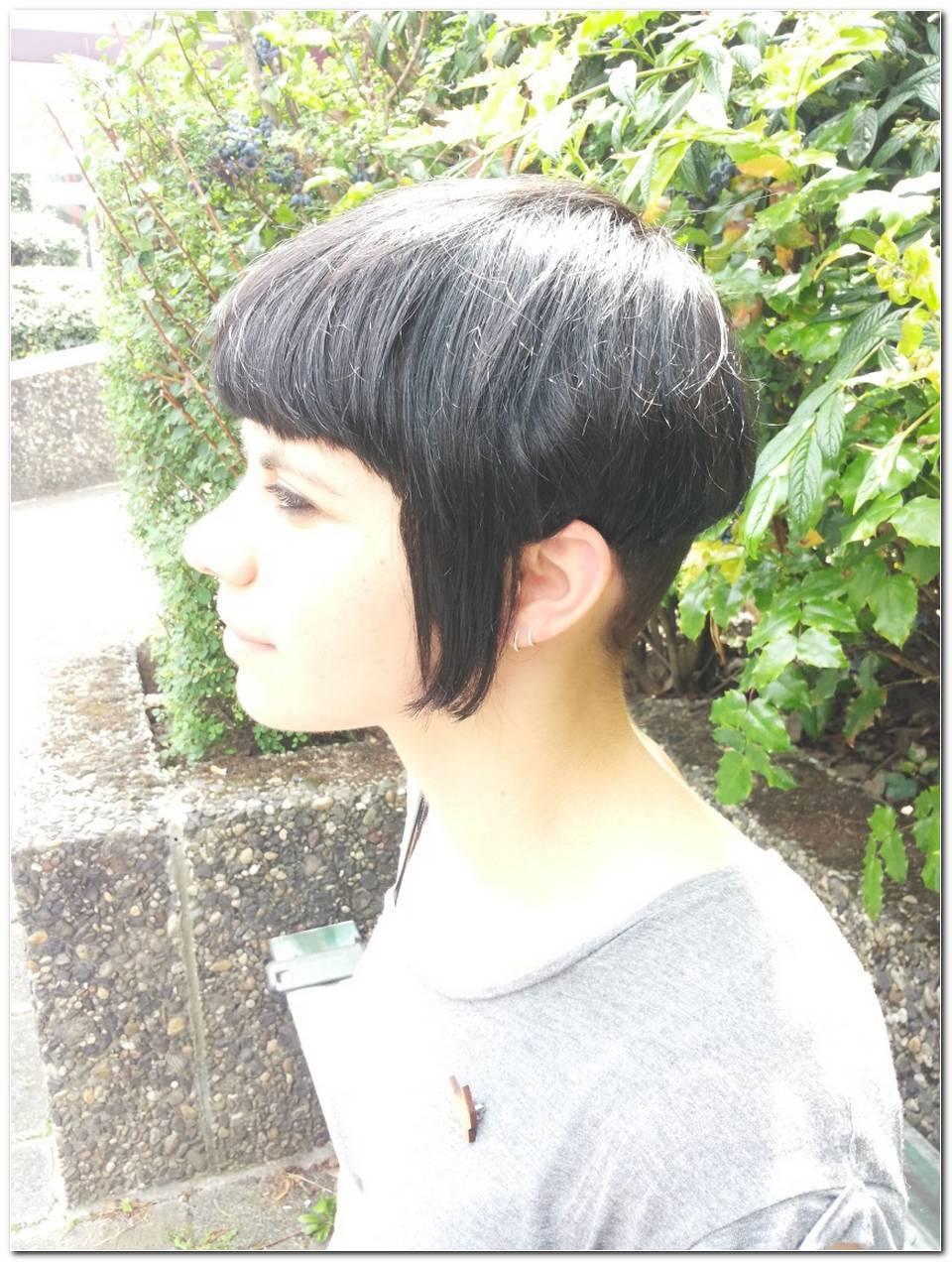 Skinhead Frisur Frau