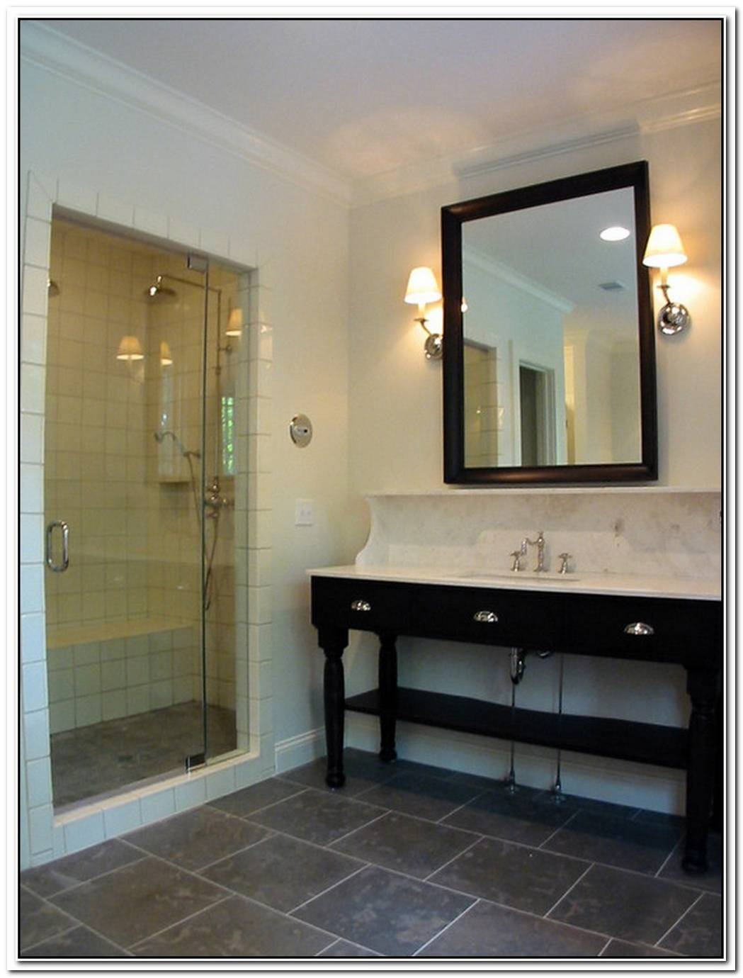Slate Bathroom Modern Marble