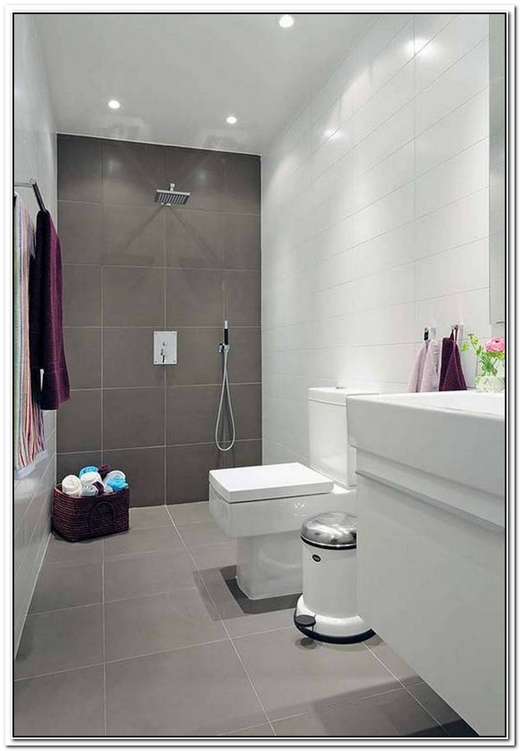 Small Space Bathroom Modern Area