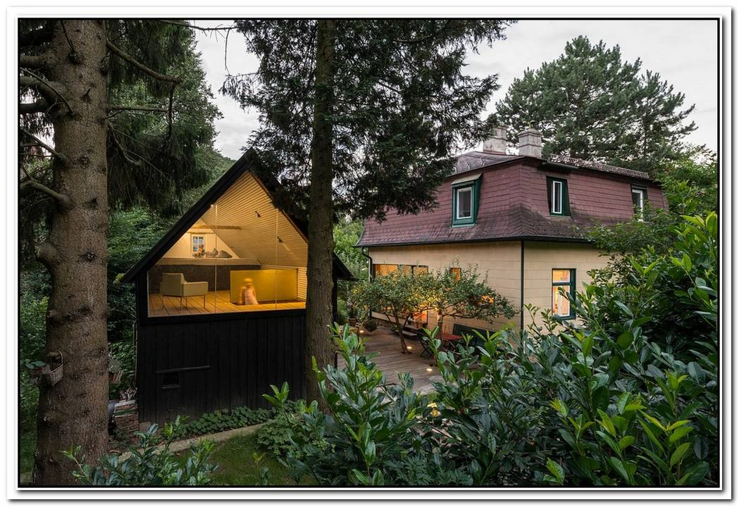 Smart Makeover Of 1930'S Austrian Home And A Magical Backyard Escape