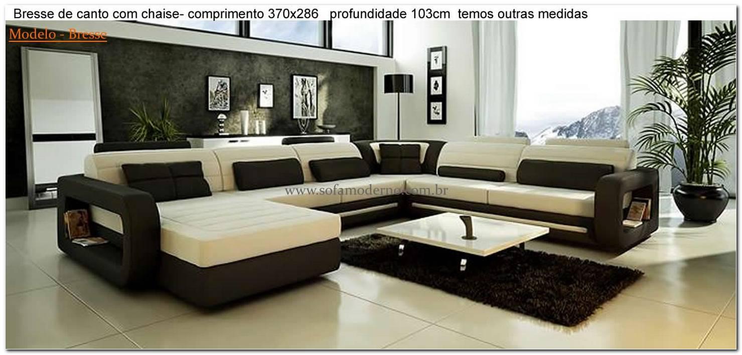 Sofa De Luxo Para Sala De Tv
