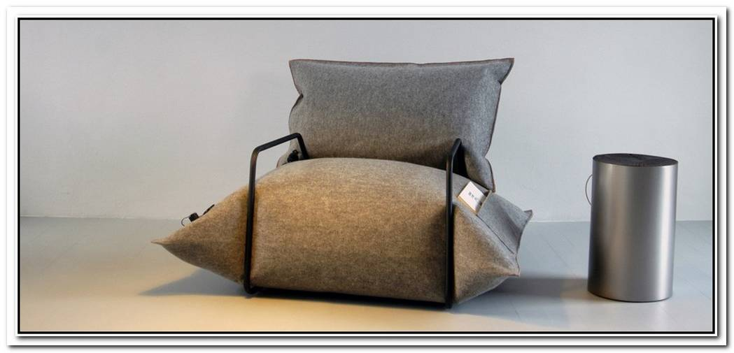 Sofa Made From Dunnage Bags By Malafor