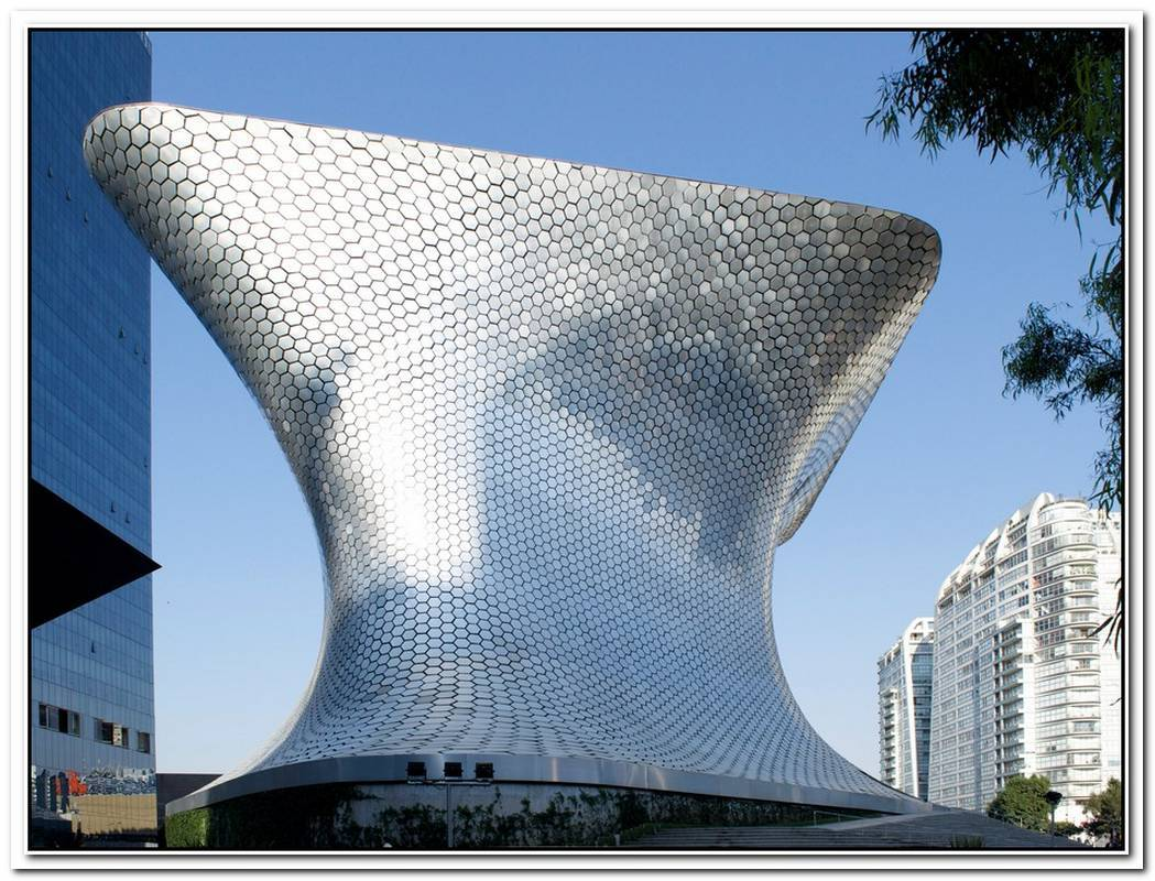 Soumaya Art Museum In Mexico City