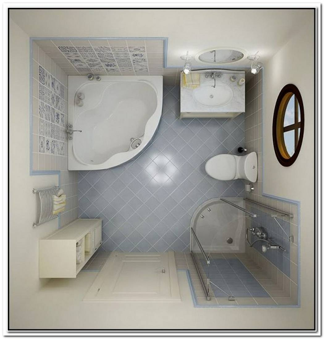 Space Bathroom Small Efficient