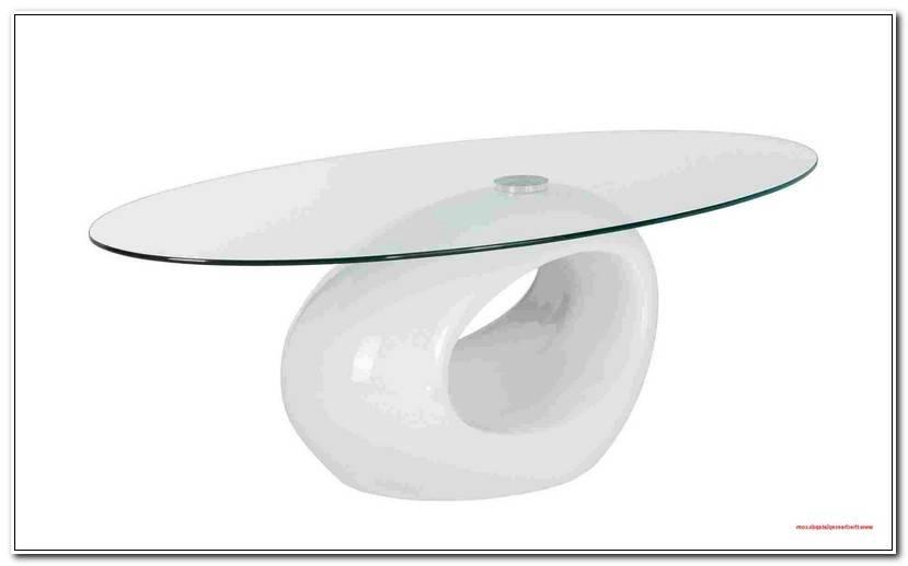 Space Couchtisch Glas Rund