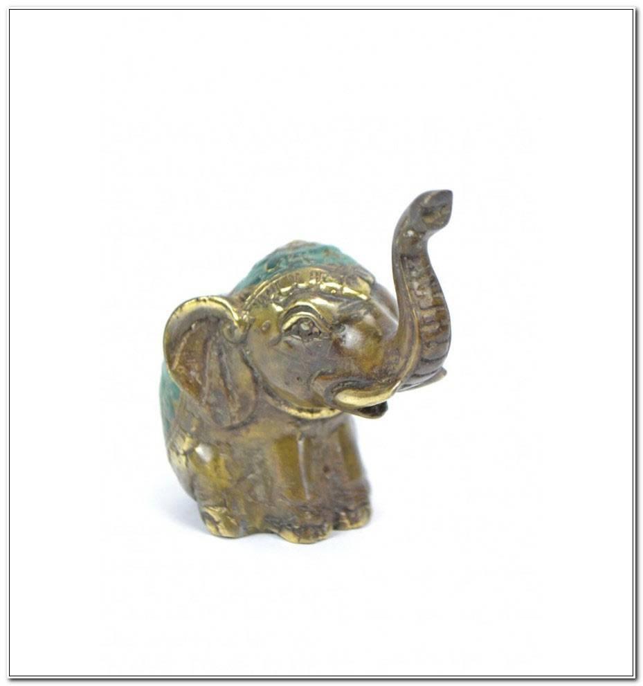 Statuette Elephant Porte Bonheur