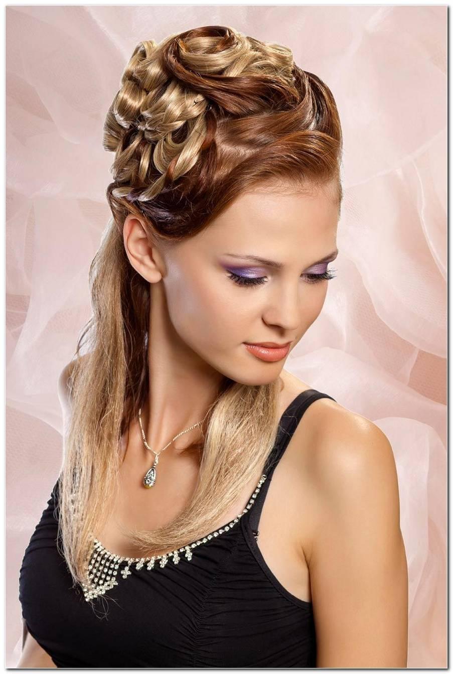 Steck Frisur Lange Haare