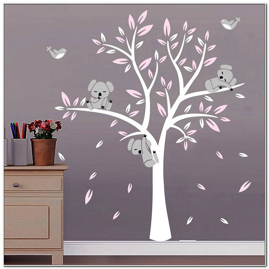 Stickers Arbre Koala