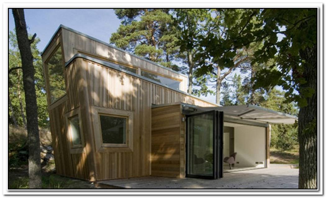 Stockholm Wooden House Is As Ecofriendly As It Can Get