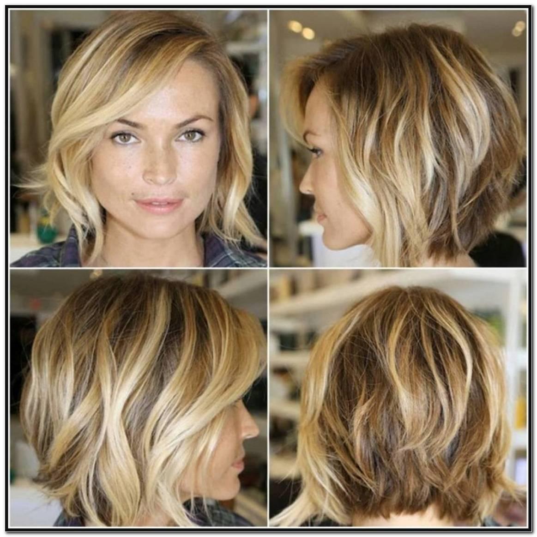 Stufige Frisuren Mittellang