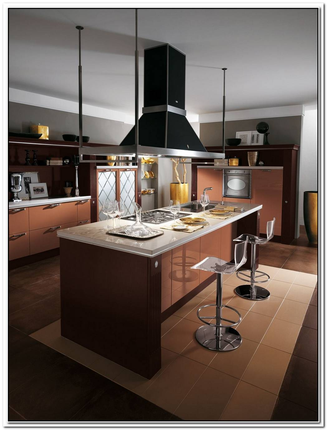 Stylish Baccarat Kitchen By Gianni Pareschi
