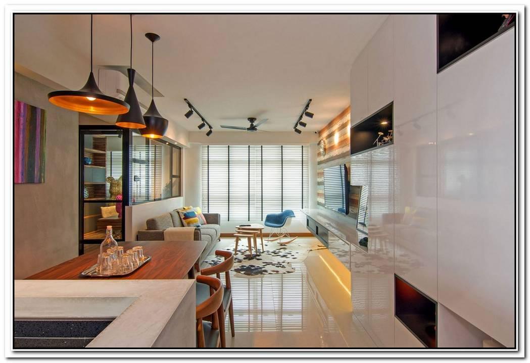 Stylish Penthouse Apartment In Singapore