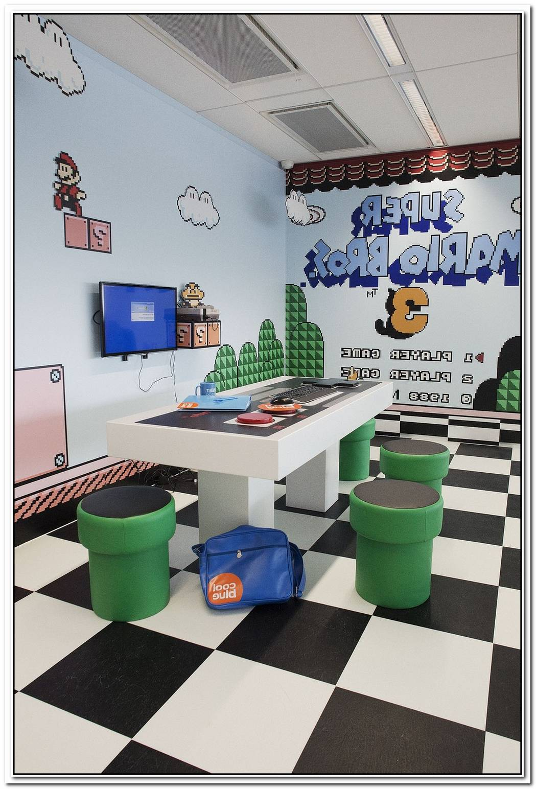 Super Mario Furniture For Fans