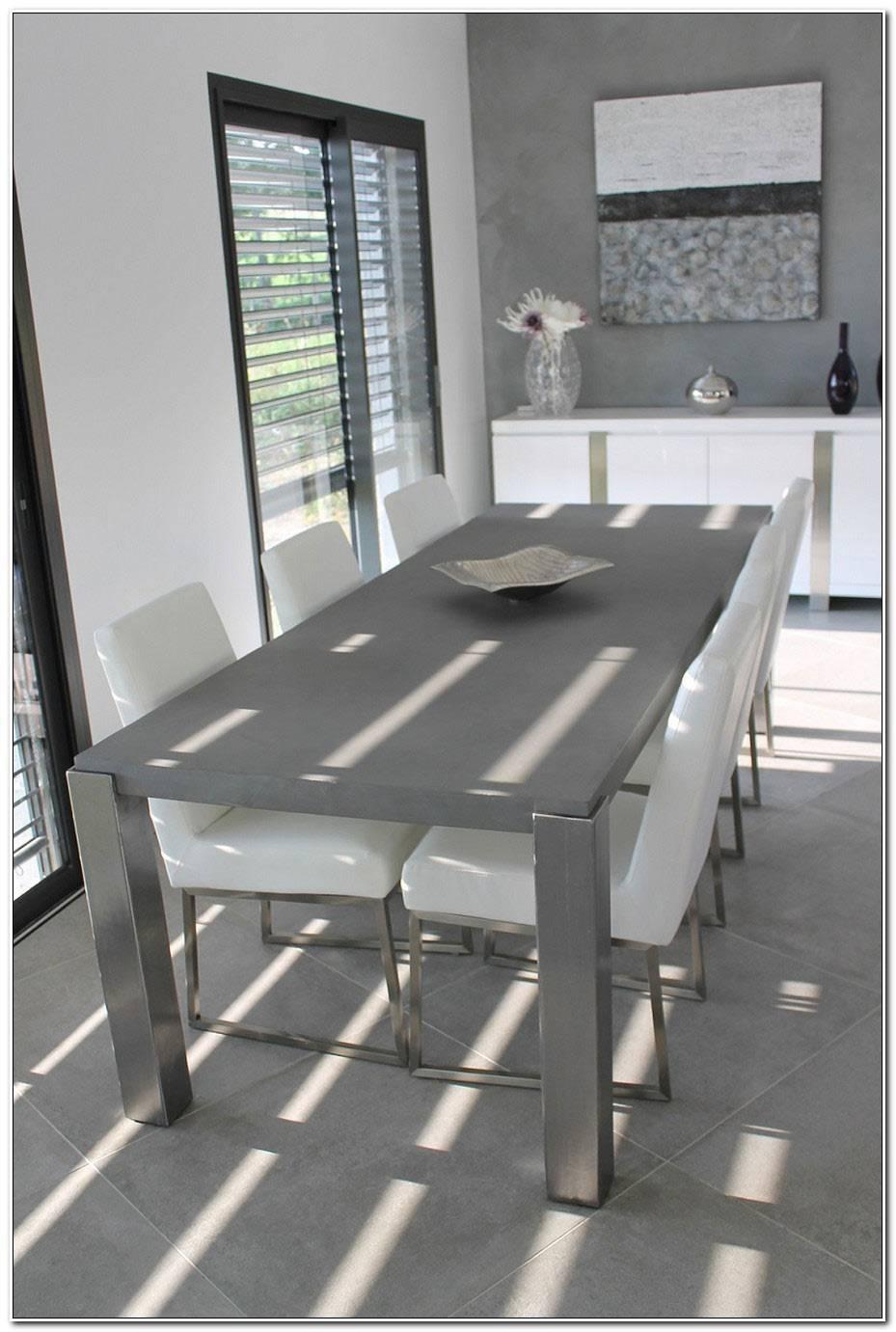 Table A Manger Effet Beton