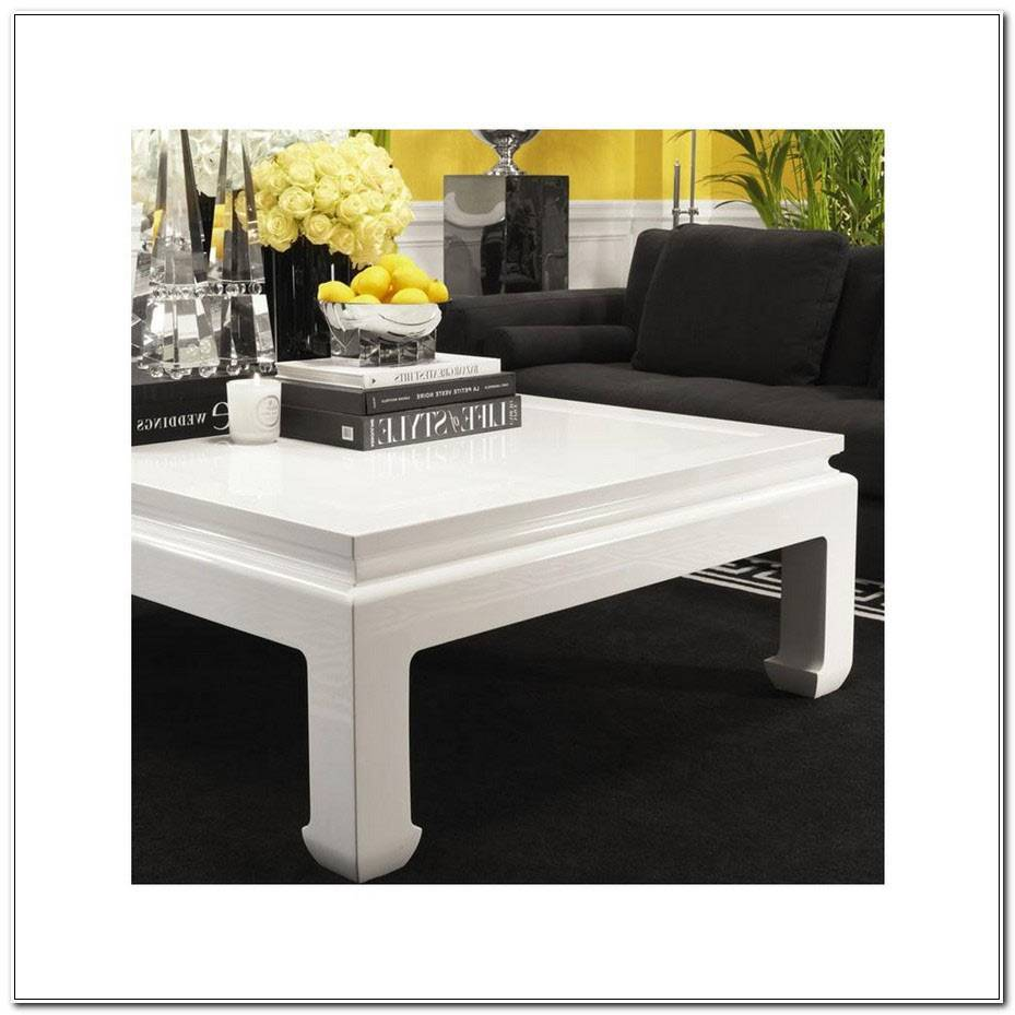 Table Basse Opium Blanche