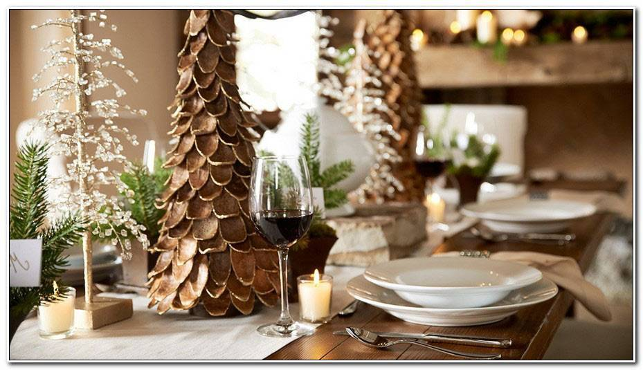 Table De Noel Chic