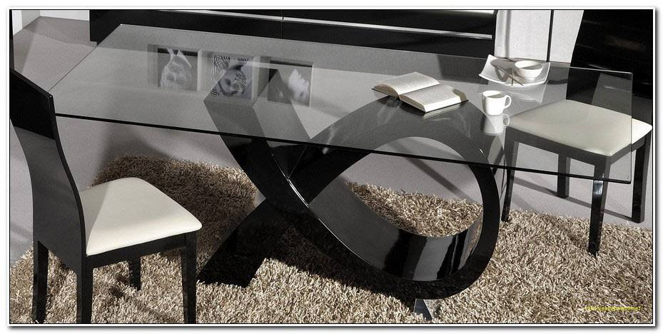Table Manger Verre Design