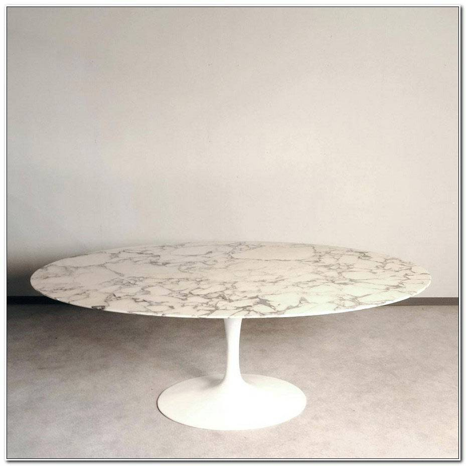 Table Saarinen Ovale Occasion