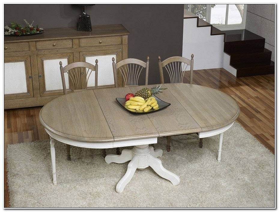 Table Salle A Manger Ronde Extensible
