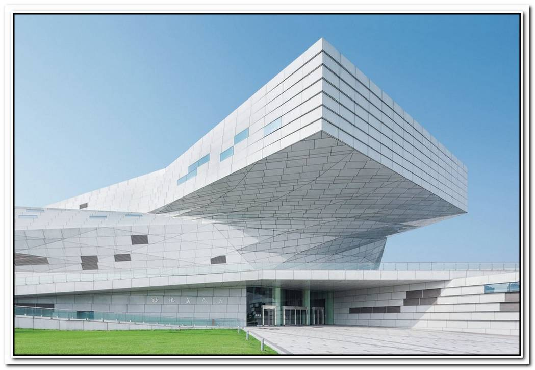 Taiyuan Museum Of Art By Preston Scott Cohen