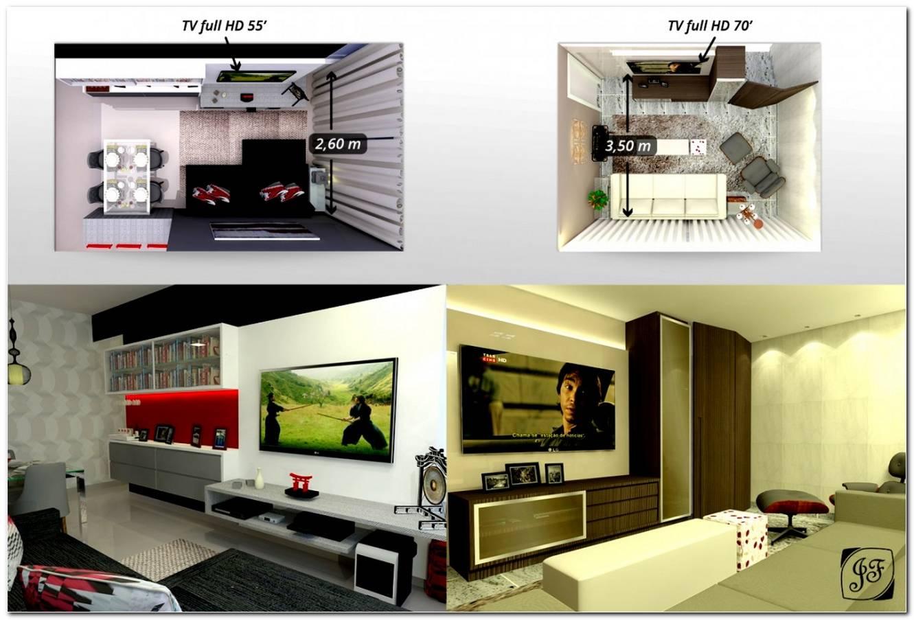 Tamanho Ideal De Sala De Tv
