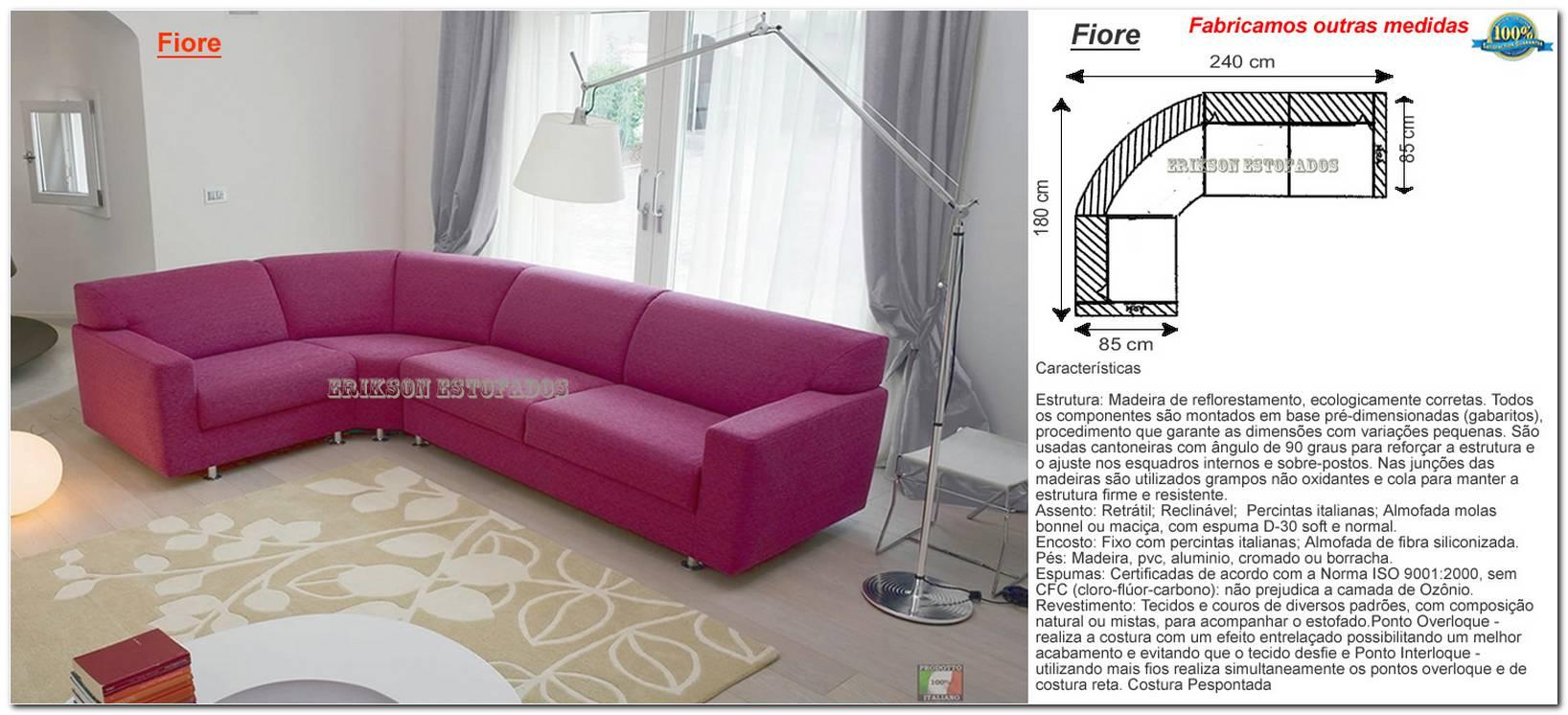 Tamanho Sofa Sala Pequena