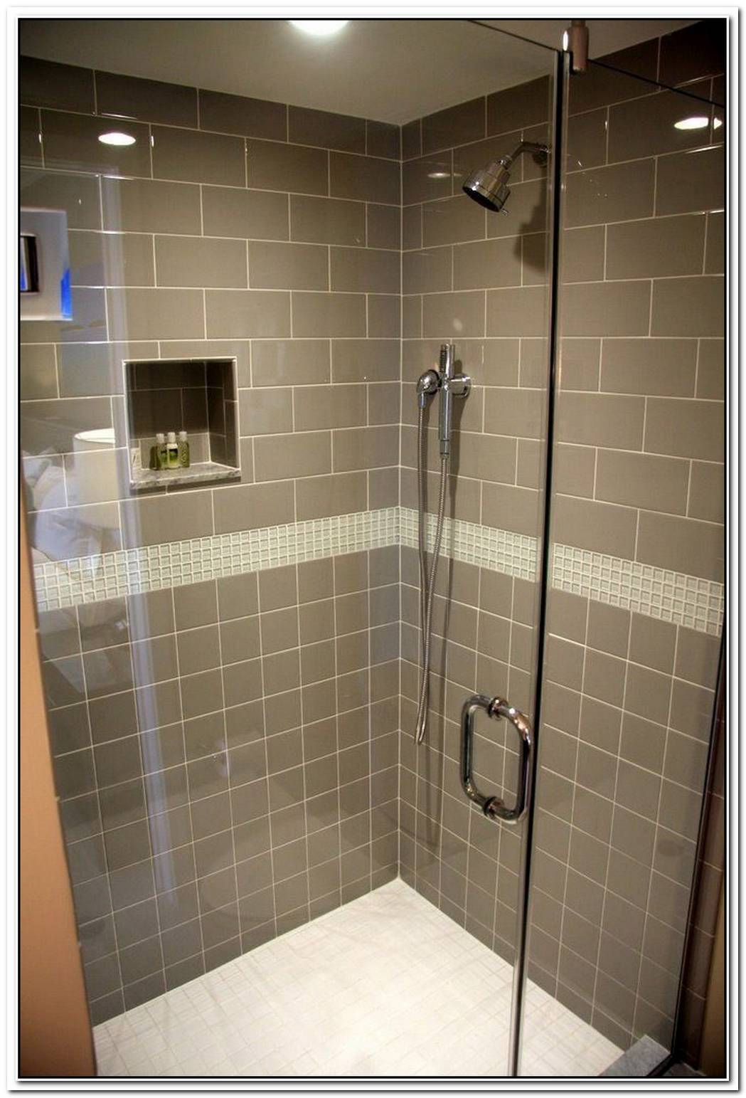 Taupe Bathroom Tile