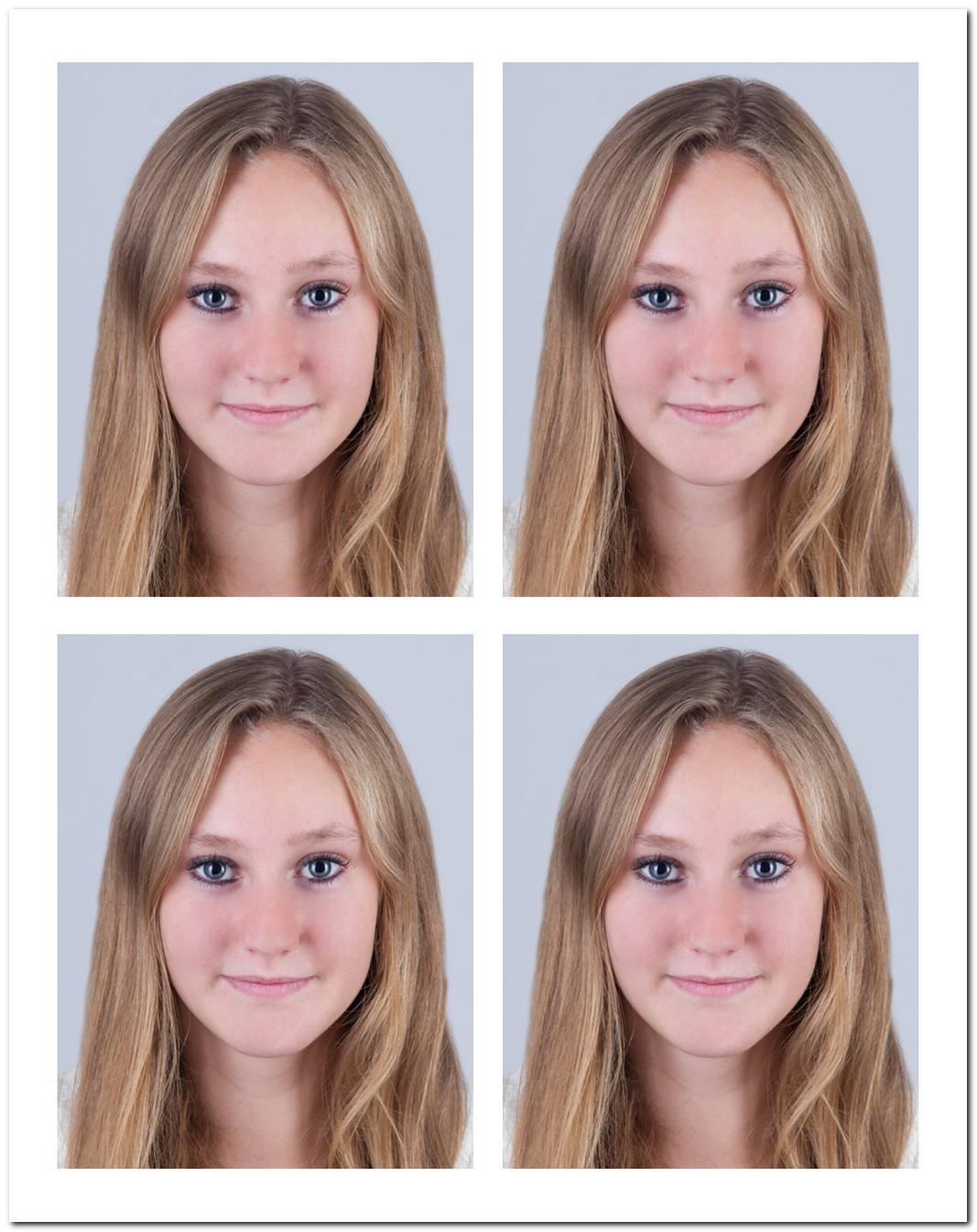 Tbiometrisches Passbild Frisur