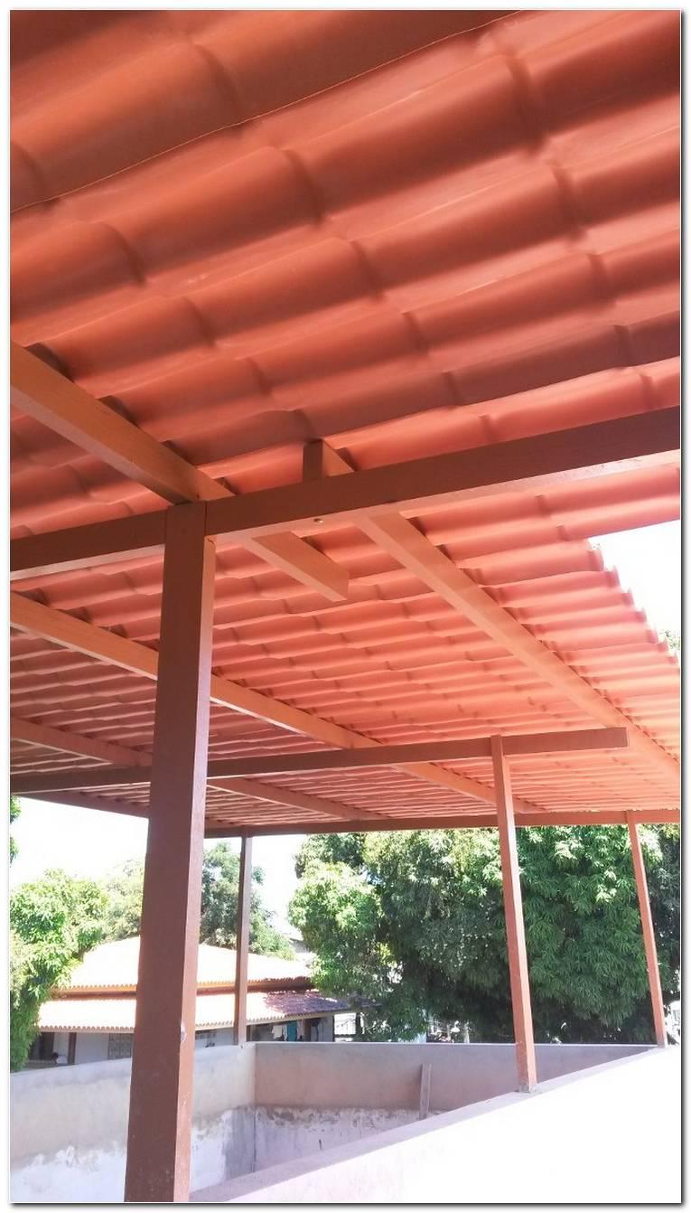 Telhado Com Telha De Pvc