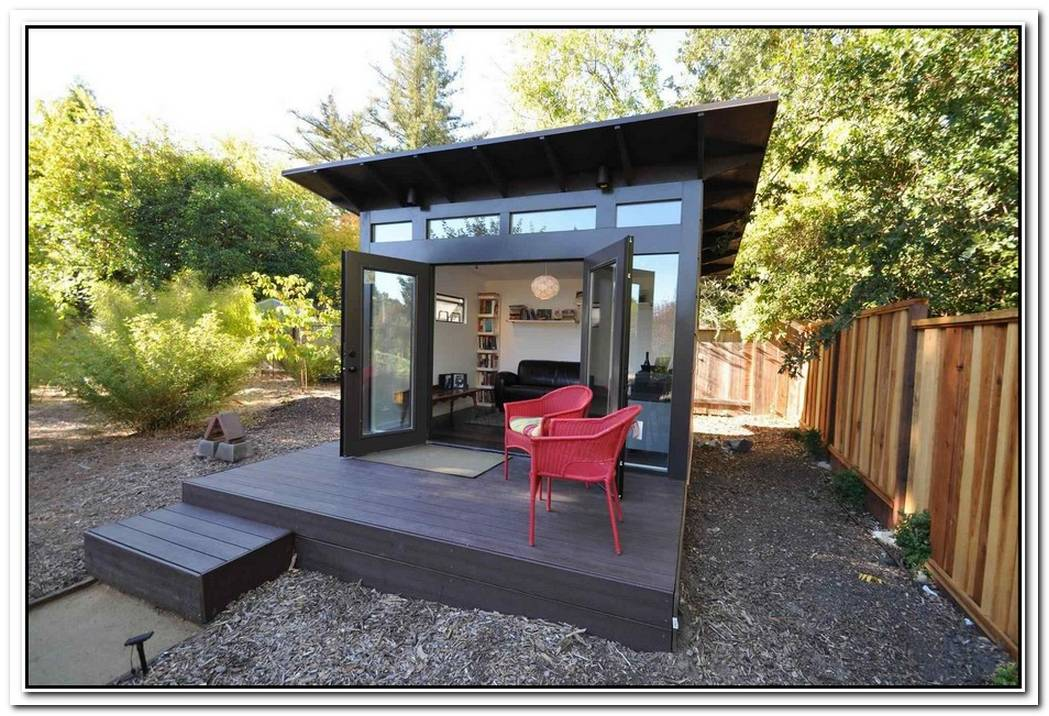 The Best Prefabricated Outdoor Home Offices Designs