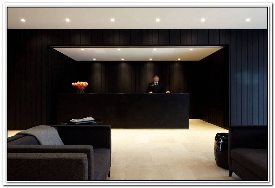 The Black Interior Burbury Hotel By Katon Redgen Mathieson