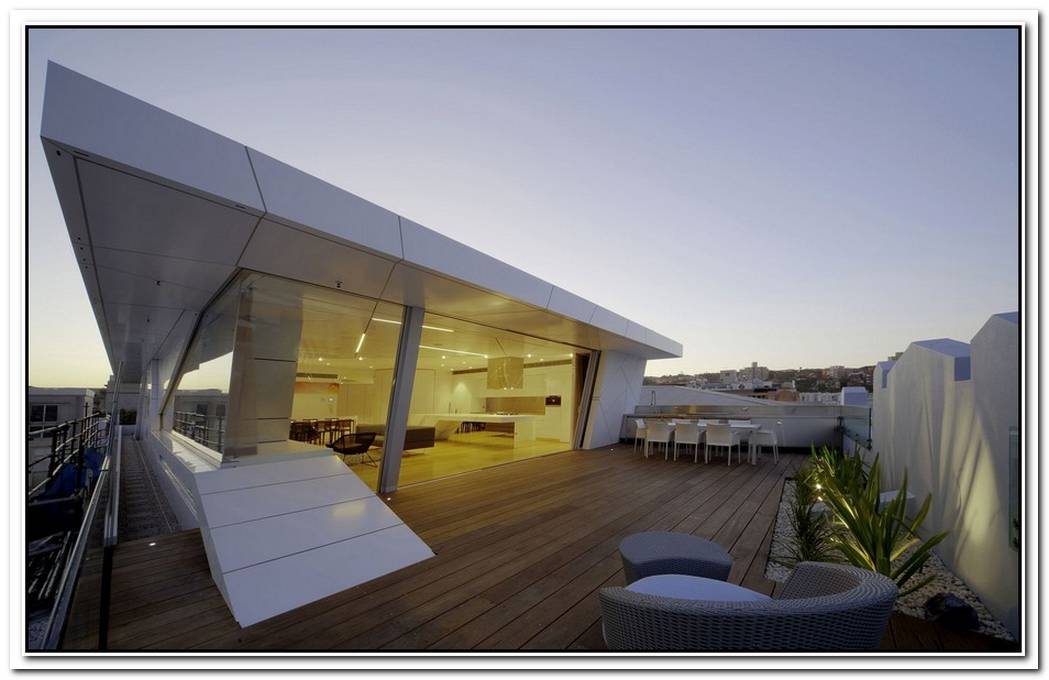 The Bondi Rooftop Penthouse By Brian Meyerson Architects