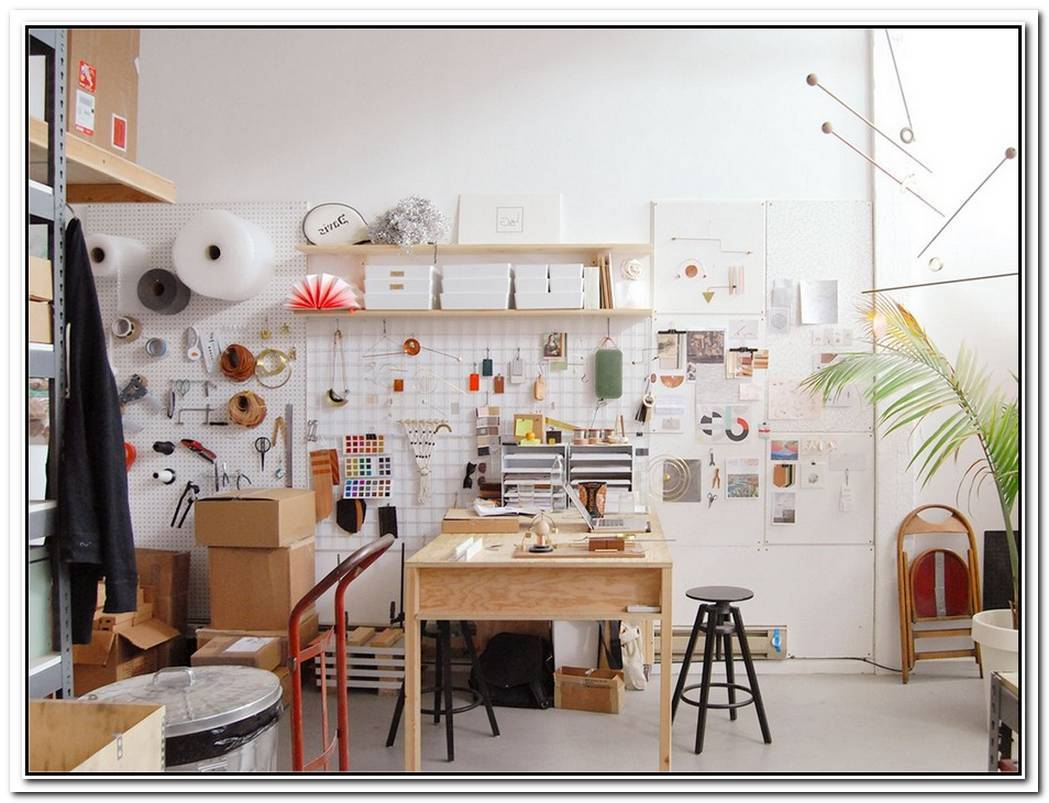 The Chaotically Organized Home Studio Of Jim Mezei