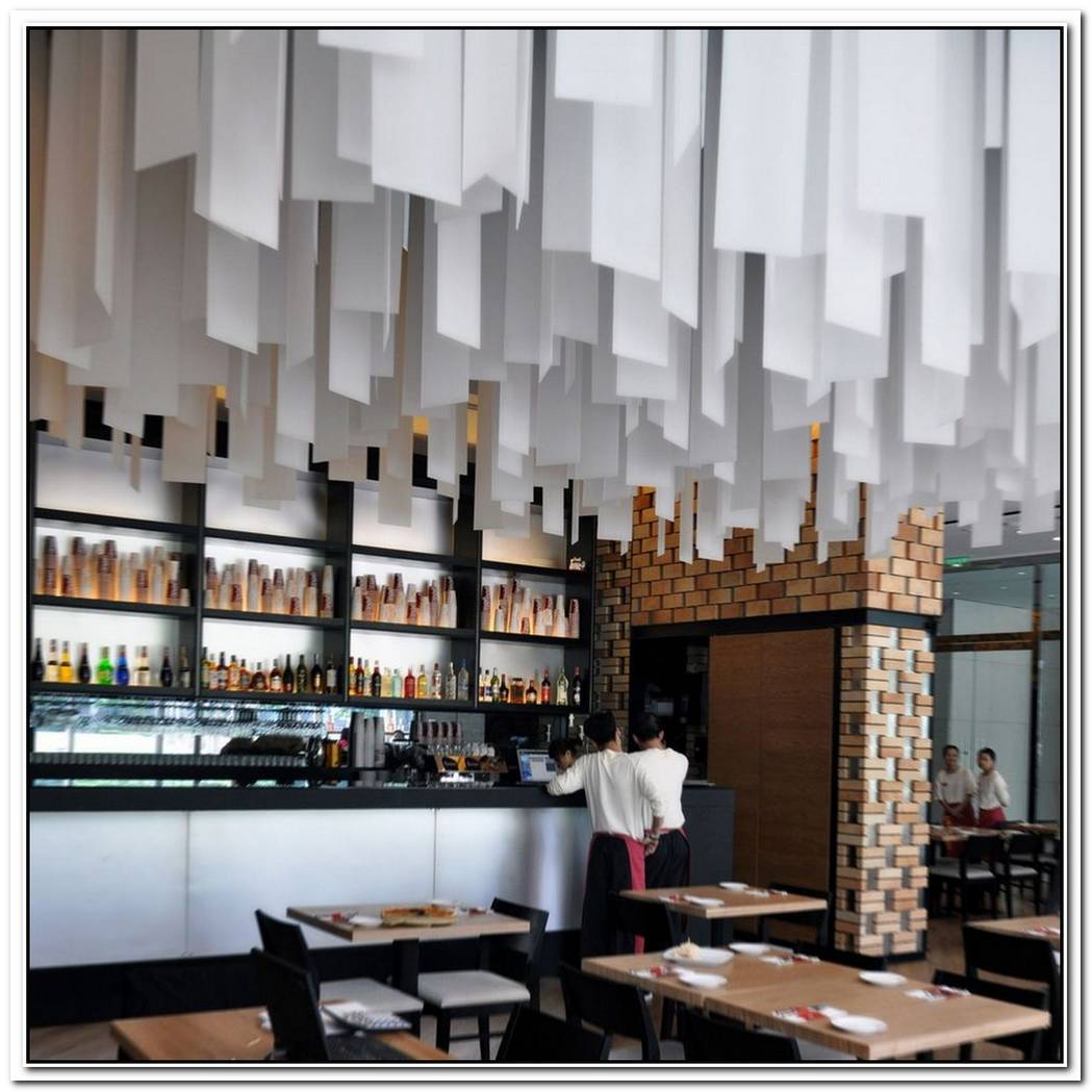 The Cornerstone Restaurant Interior Design In Beijing