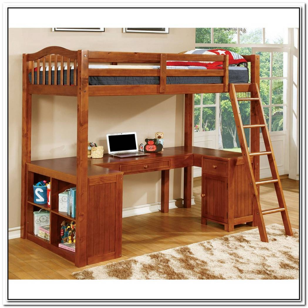 The Dorena Twin Workstation Bunk Bed
