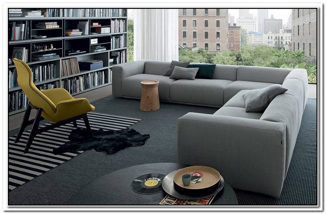 The Elegant Bolton Sectional Sofa By Giuseppe Vigano