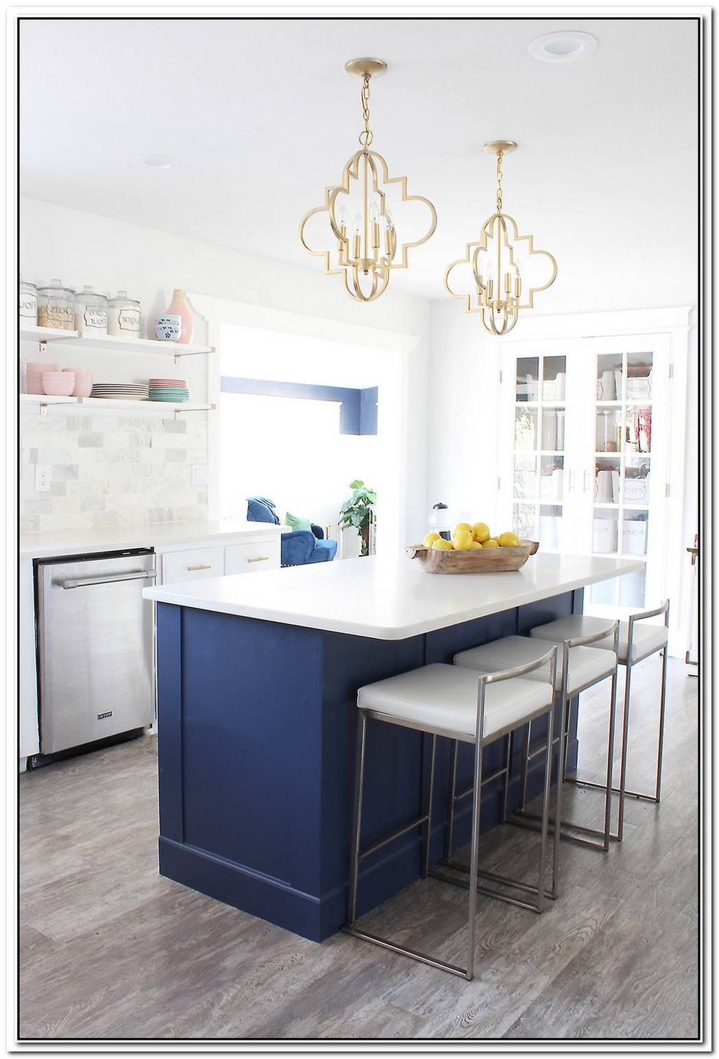 The Elegant Terra Kitchen Island