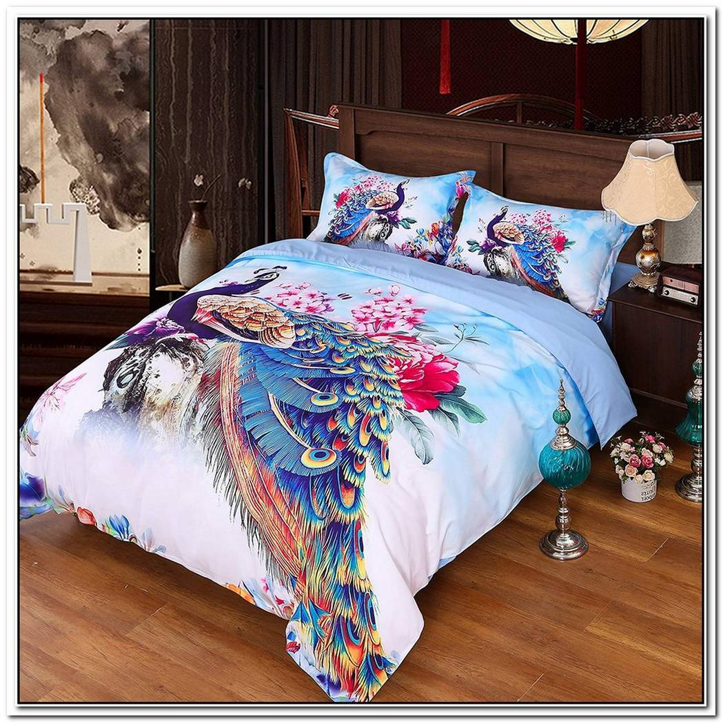 The Friendly Unicorn Peony Duvet Set
