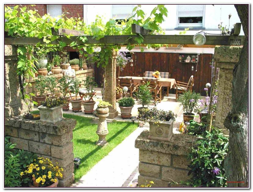 The Garten Sichtschutz Ideen