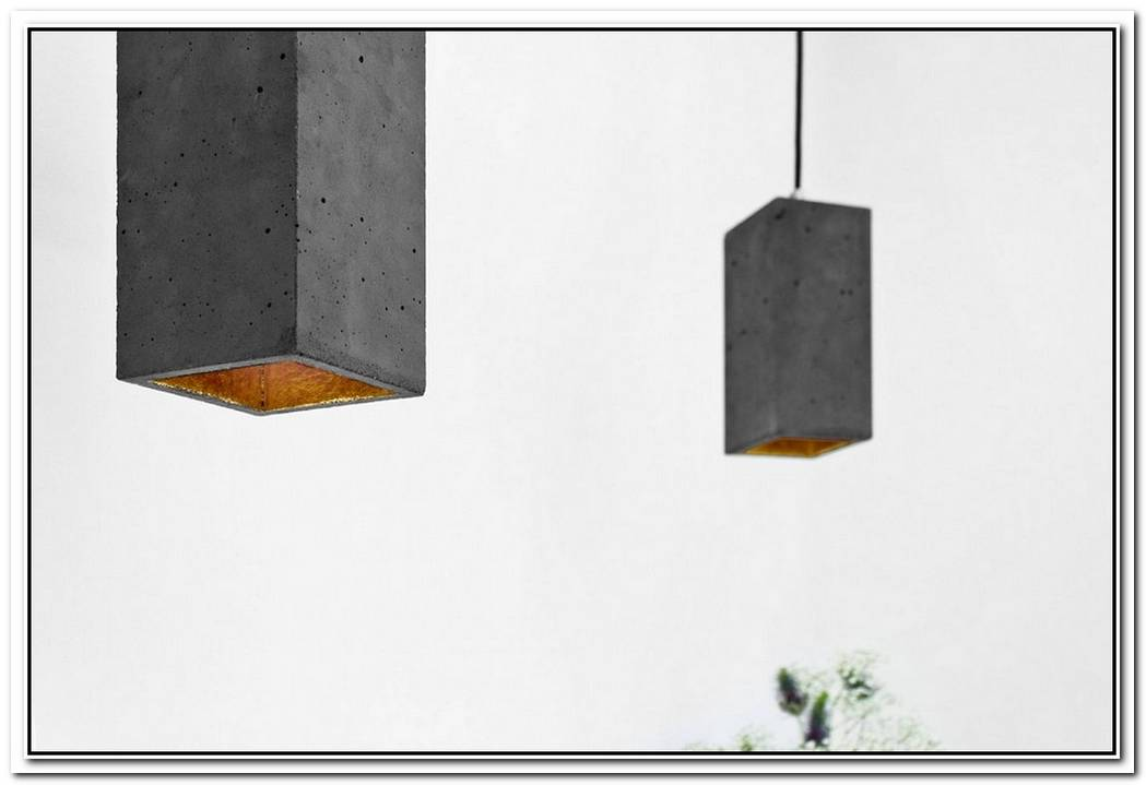 The Glass And Concrete Coretube Pendant Lamp