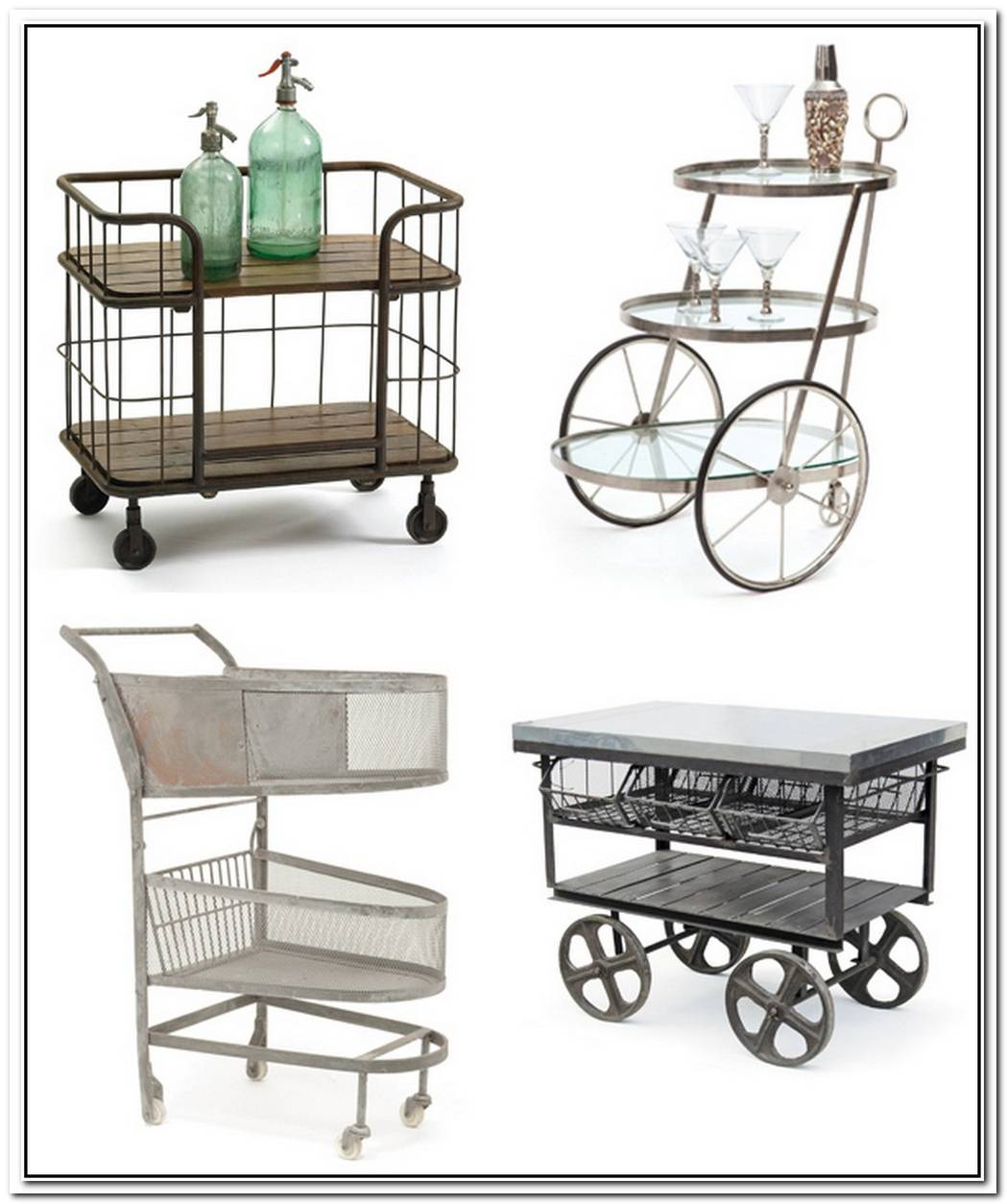 The History Of Bar Carts
