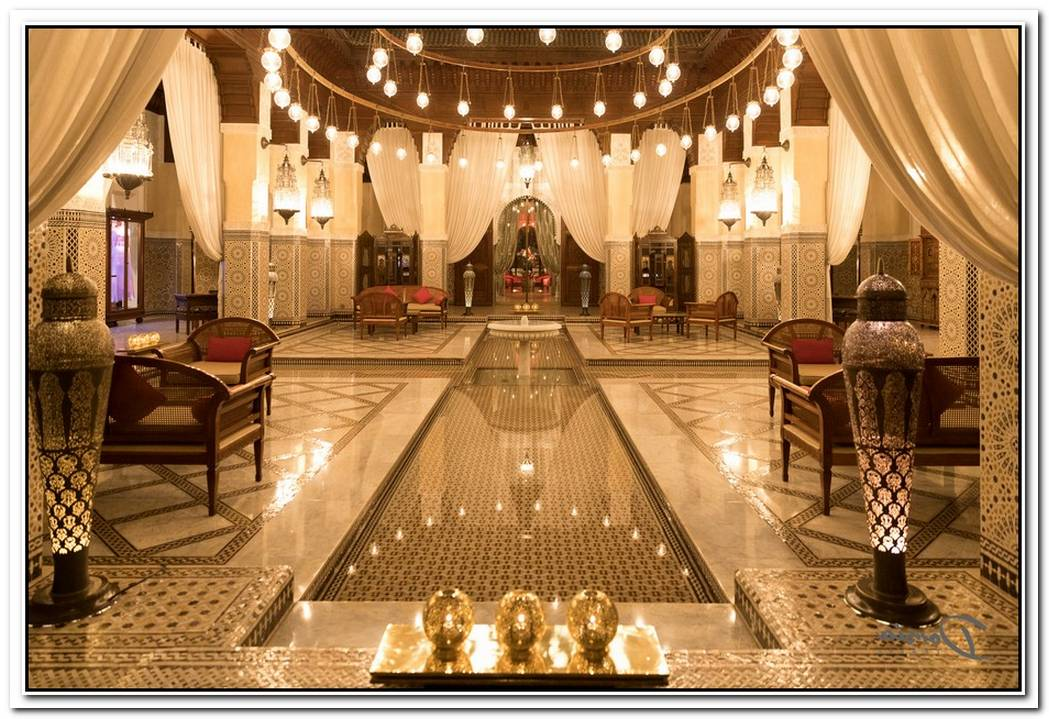 The Impressive Royal Mansour Hotel