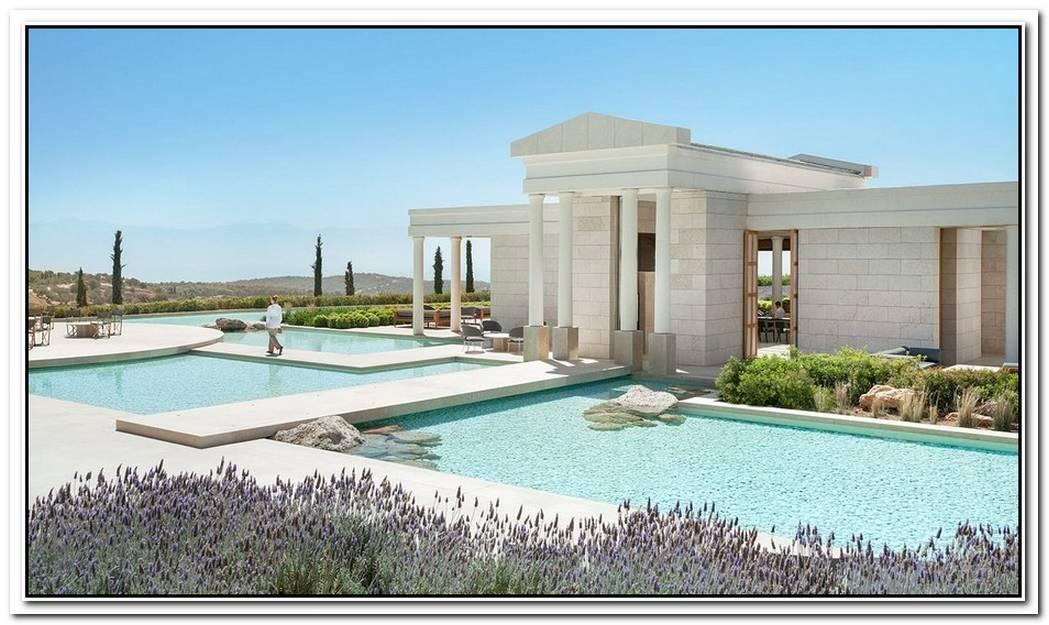 The Luxurious Amanzoe Villas In Greece