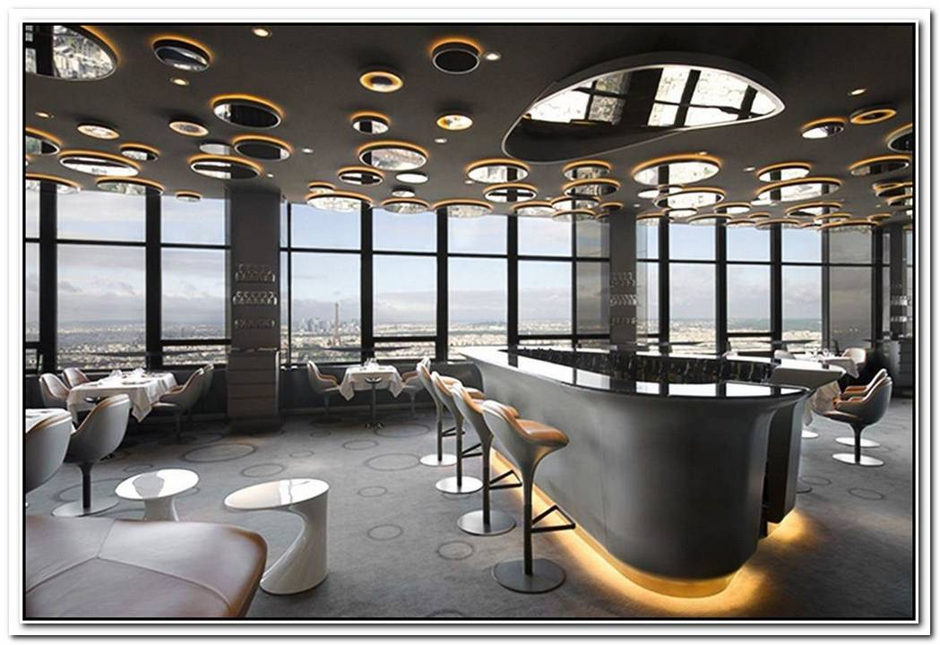The Luxury Ciel De Paris Restaurant Interior Design