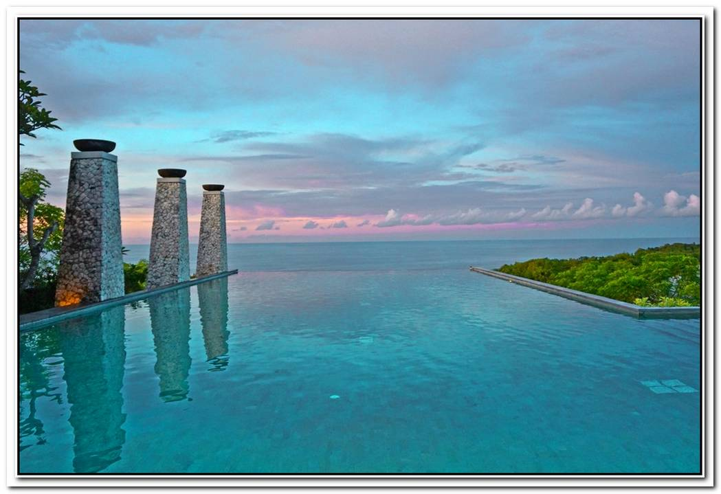 The Mesmerizing Ocean And Mountain Views Of The Banyan Tree Ungasan Bali Resort