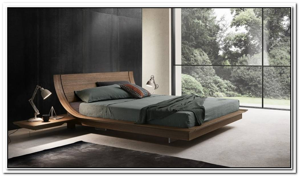 The Modern Aqua 2 Platform Bed By Presotto