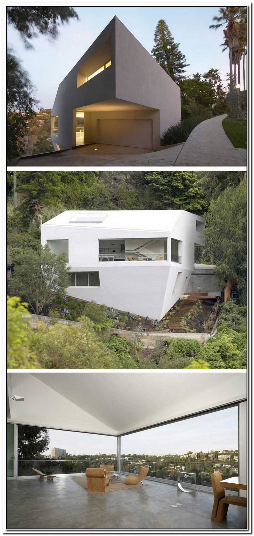 The Modern Architecture And Unusual Shape Of The Hill House