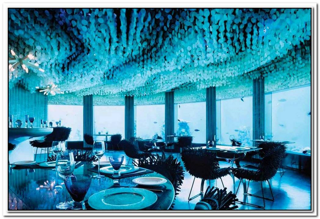 The Most Spectacular Underwater Hotels And Restaurants The World Has To Offer