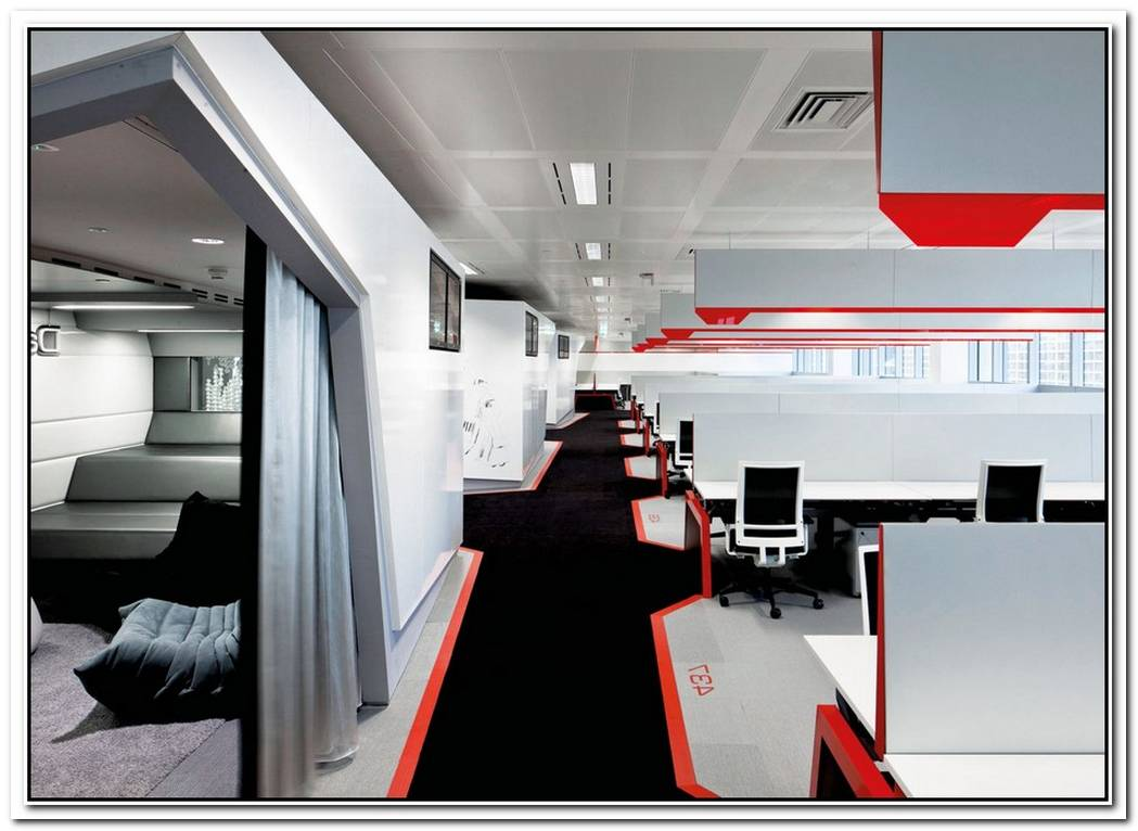 The New Google Floor Interior Design In London Called L4