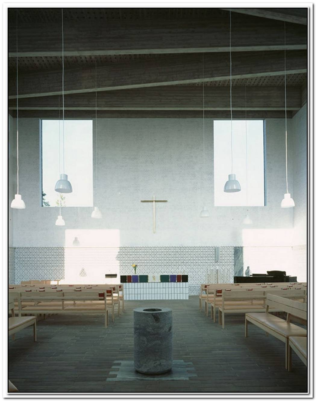 The New Lutheran Church By Johan Celsing